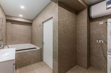 Пример уборки ванной